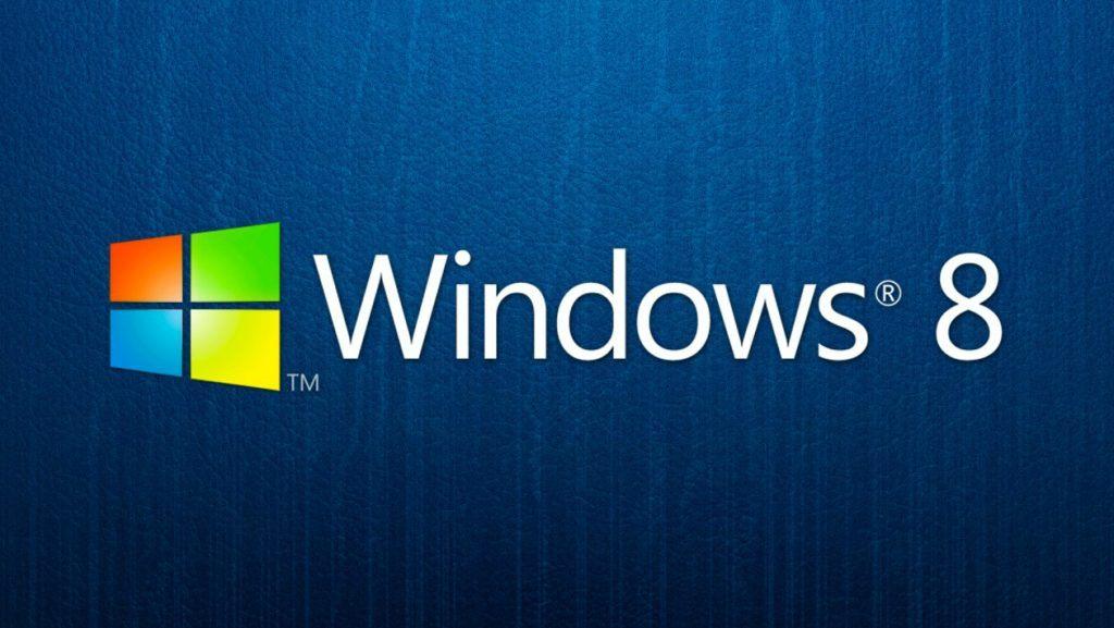 Logo oficial de Windows 8.