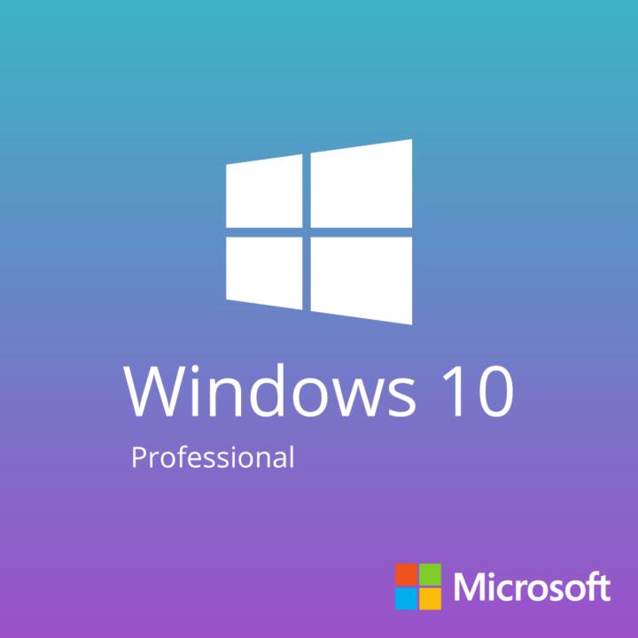 Portada del producto de Microsoft Windows 10 Professional